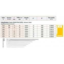 Long Darners Lamm 2/0 (1,4x85) - 25pcs/envelope, 40envelopes/box (1000pcs)