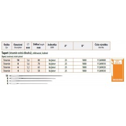 Embroidery needles Tapet 6 (1,2x65) - 25pcs/envelope, 40envelopes/box (1000pcs)