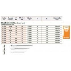 Embroidery Needles Chenille 16/2 (1,6x55mm) - 25pcs/envelope, 40envelopes/box (1000pcs)
