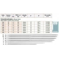 Mattress Needles - One point 10 (2,4x254) - 25pcs/envelope - 10envelopes/folie