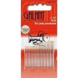 Hand Sewing needles, Betweens No. 3–7, gold eyes - 20pcs/card
