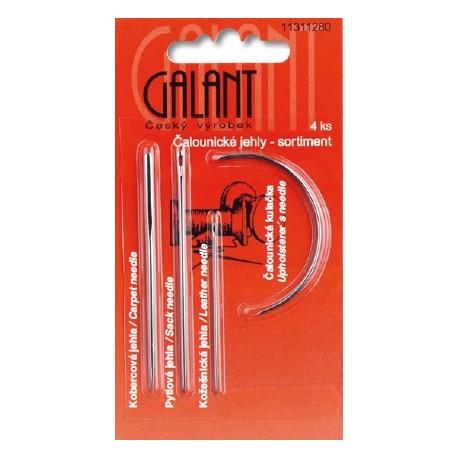 Craft needles - assort - 4pcs/card