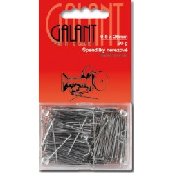Stainless Steel Pins 26x0,50mm - 20g/card