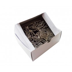 Safety Pins ECONOMY - 31mm - nickled - 864pcs/box (11/12 - in bunches)
