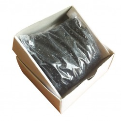 Safety Pins ECONOMY - 19mm - black - 1728pcs/box (loose)
