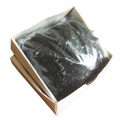 Safety Pins ECONOMY - 22mm - black - 1728pcs/box (loose)