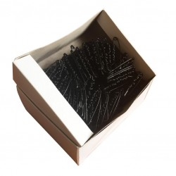 Safety Pins ECONOMY - 47mm - black - 864pcs/box (11/12 - in bunches)