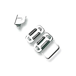 Steel Trouser Hooks 40960 - nickled - 1gros(144pcs)/box