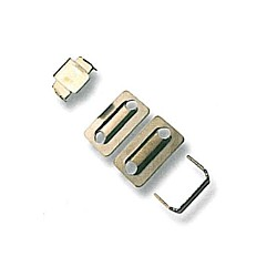 Steel Trouser Hooks 40980 - nickled - 1gros(144pcs)/box