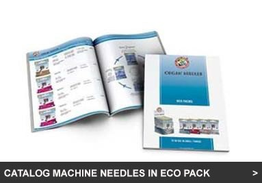 Catalog Machine Needles in ECO PACK