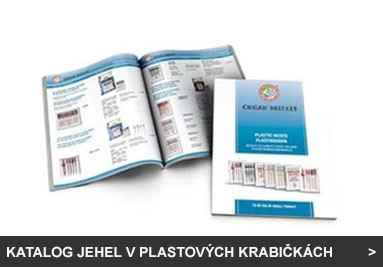 Katalog jehel v plastových krabičkách (PB)