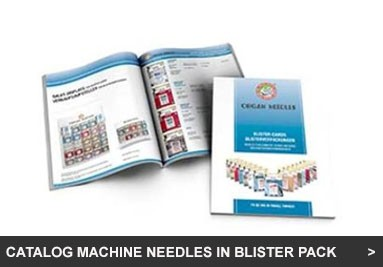 Catalog Machine Needles in Blister Pack